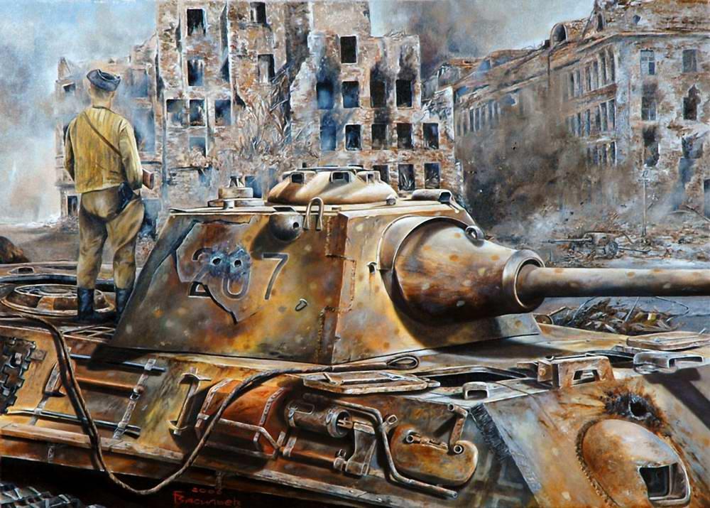 Васильев Глеб. Берлин. Апрель 1945 год.