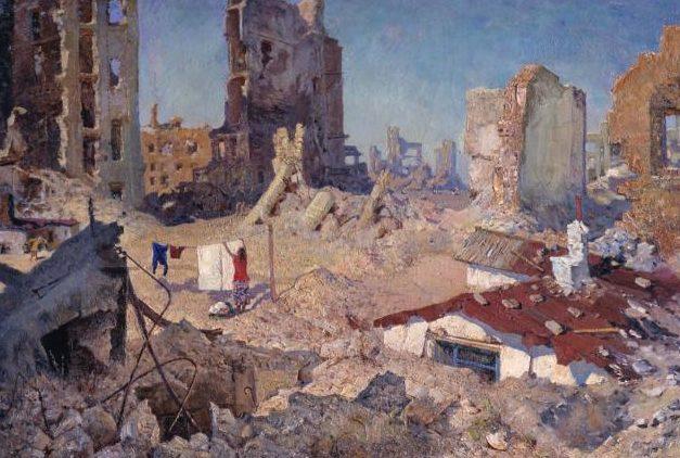 Пышта Михаил. Весна в Сталинграде 1943 года.