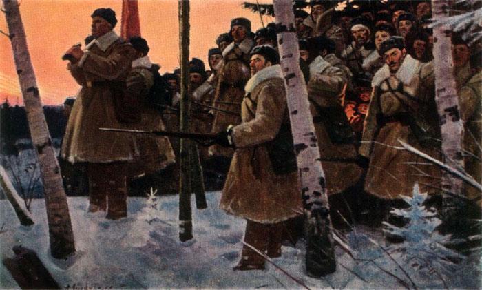 Лысенко Андрей. Москву отстояли.
