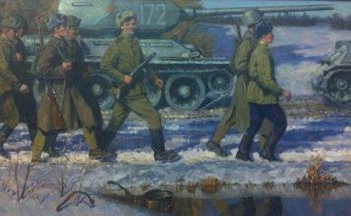 Усватов Александр. Весна 1944 года.