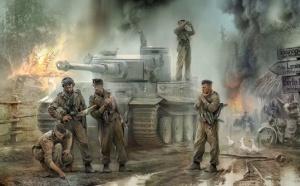 Хивренко Иван. Немецкие танкисты.