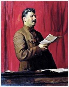 Бродский Исаак Израилевич (Россия, 1883 - 1939) «Портрет И. В. Сталина»