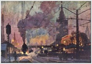 Сатель Георгий Эдуардович (Россия, 1917) «Москва - Каланчевская»