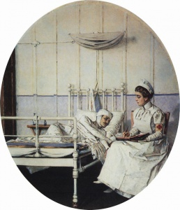 Верещагин. Письмо на родину (Письмо к матери). 1901