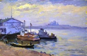 Галкин Андрей Максимович (1896-) «Пристань»