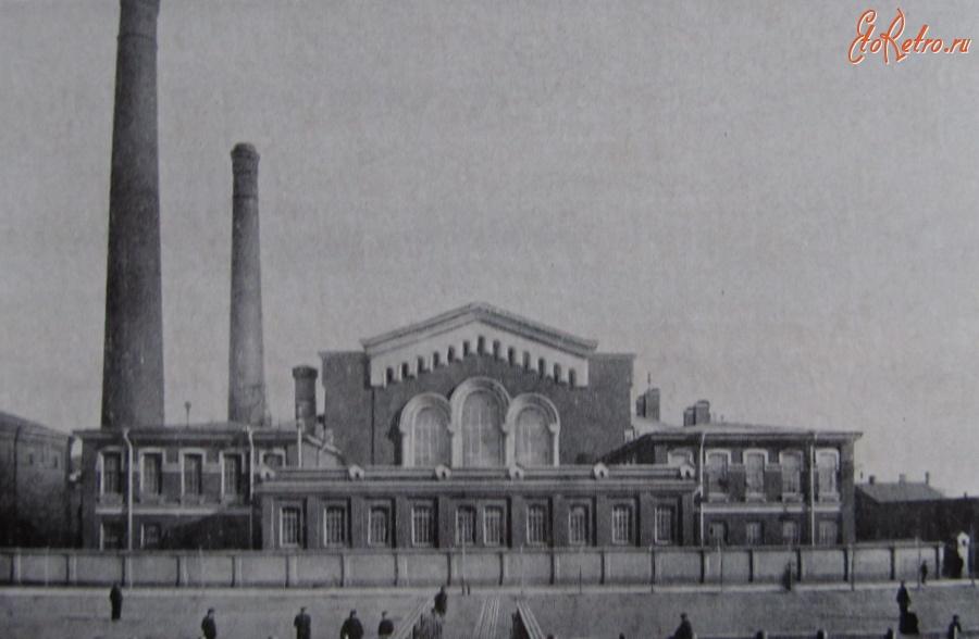 Одна из первых электростанций Петербурга.Начало 20 века.