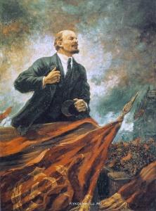 1929-1930 Герасимов Александр Михайлович (1881-1963) «В. И. Ленин на трибуне»