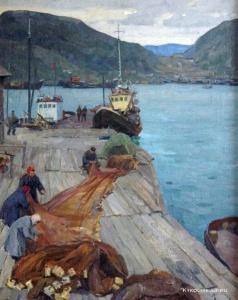 Сыромятникова Екатерина Васильевна (1914) «На Северном море»
