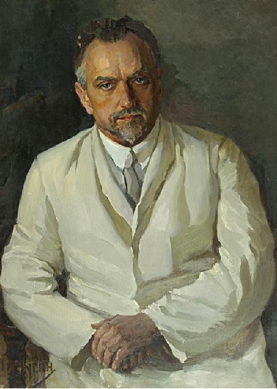 Пичугин Н.А. Портрет Семашко Н.А. 1930-е г.