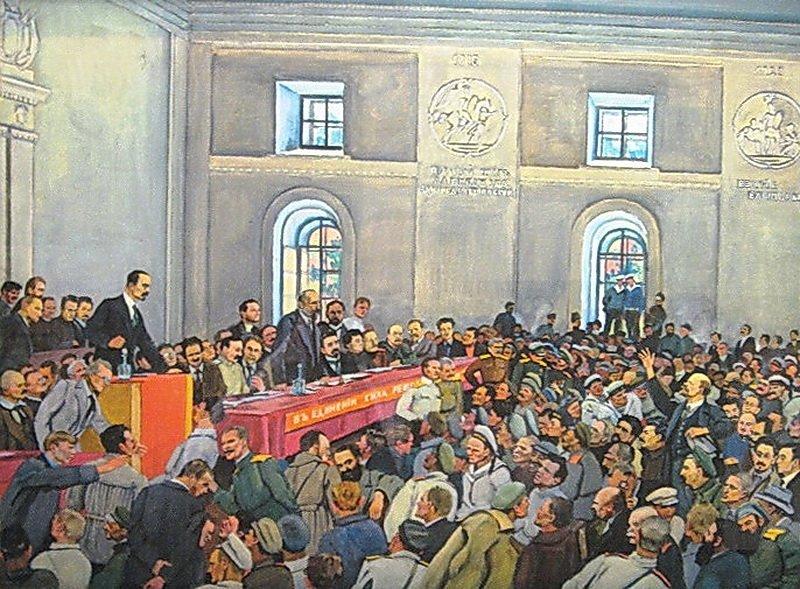 К.Ф.Юон «Есть такая партия!» 1934
