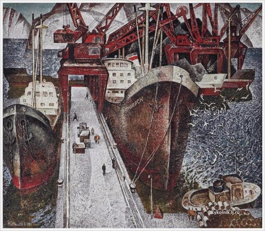 Мальцев Владимир Федорович (Россия, 1929) «Ритмы севера»