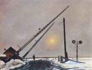 Оссовский Петр Павлович (Россия, 1925) «Пути-дороги»