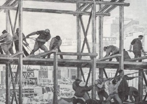 Юон Константин Федорович - 1924 Строительство.