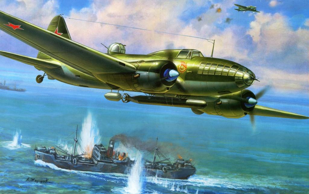 Жирнов Андрей. Торпедоносец Ил-4Т.