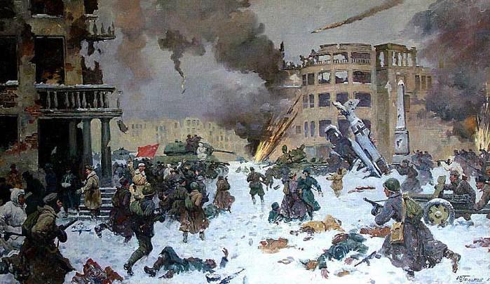 Гальков Юрий. Сталинград. Бой в центре города.