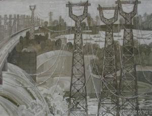 «Волжская ГЭС». Автор Покрашенко М. И.