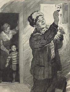 Воробьева Ирина Николаевна (1932–1993) иллюстрация к книге П.Бабанского «Кто живет в нашем доме»