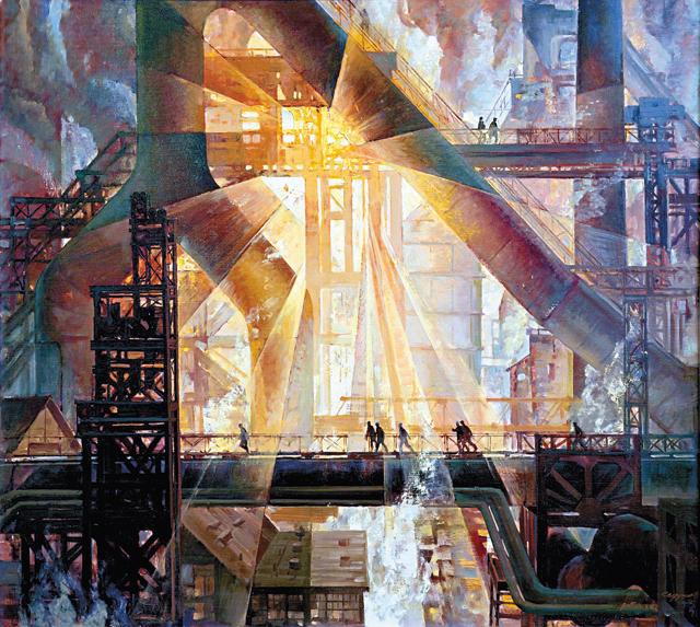 Евгений Седухин. Симфония 6-й домны. 1979 год