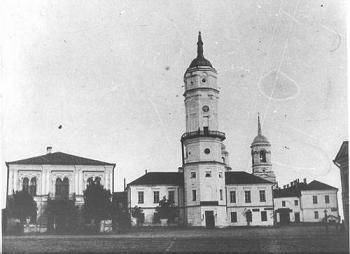 Рис. 8. Могилев. Городская ратуша – «ратушка»