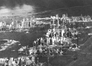Рис. 1. Руины Сталинграда в 1943 г.