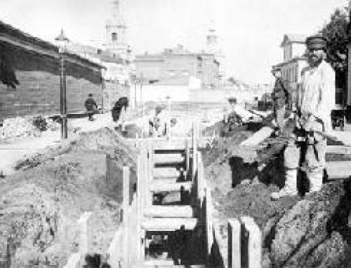 Водоснабжение и канализация жилищного сектора России до революции