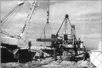 Рис. 4. Монтаж башенного крана. Ижевск. 1966 г.
