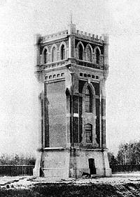 Рис. 4. Водонапорная башня на станции Черкизово.1910-е гг..