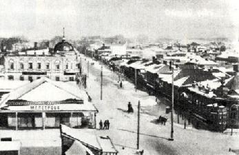 Рис. 4. Заснеженные улицы Стерлитамака. 1920 г..
