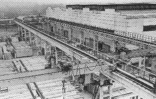 Рис. 5. Производственный цех ДСК. Ижевск. 1966 г.
