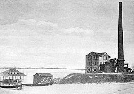 Рис.6. Водокачка на Днепре. 1908 г.