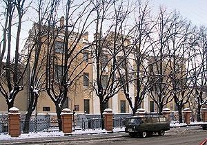 Рис. 9 Институт В. И. Ленина. Архитектор С. Е. Чернышов. 1925–1927.