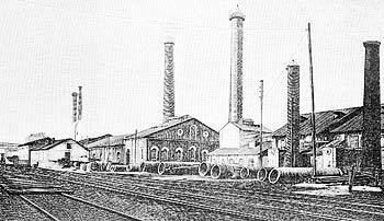 Рис. 10. Центральная электрическая станция Коломенского машиностроительного завода. Начало 20 го века.