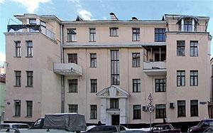Рис. 11. Дом акционерного общества «Домострой». Архитектор А. М. Гуржиенко 1926.