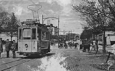 Рис. 13. Трамвай в г. Выборг. 1912 г.