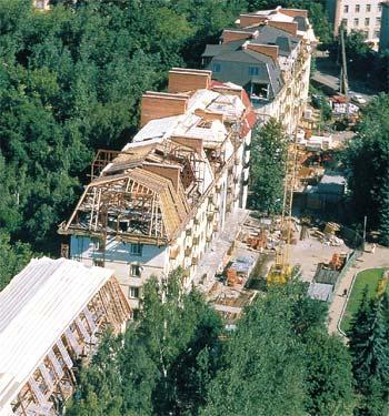 Рис. 20. Общий вид масштабной реконструкционной площадки в г. Лыткарино