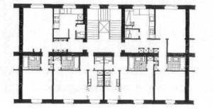 Рис. 21. План типовой секции.