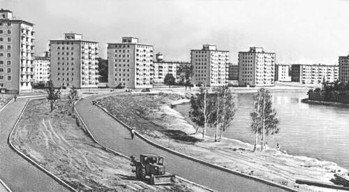 Рис. 21. Горький. Юбилейный проспект в Сормовском районе.