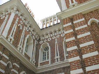 Рис. 25. Малый дворец в Царицыно Архитектор Баженов В.И.